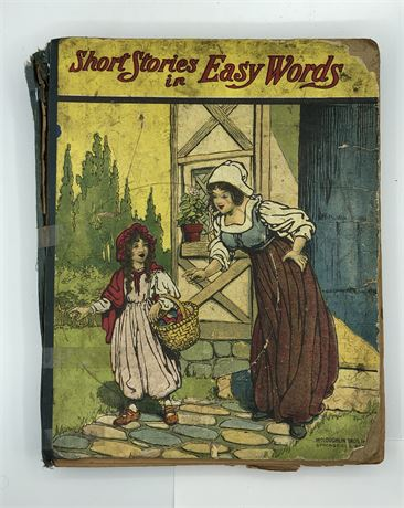 1828 illustrated Children Book Short Stories in Easy Words McLoughlin Brothers