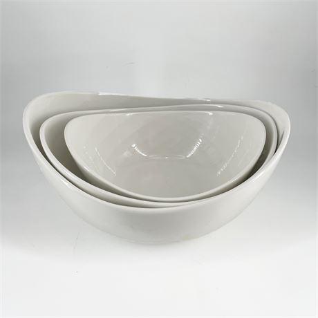 Living Colors Contemporary Nesting China Bowls