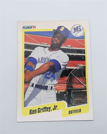 1990 Fleer Ken Griffey, Jr. #513 Baseball Card