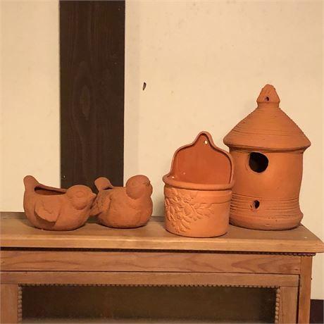 Terracotta Decorative Garden Accessories