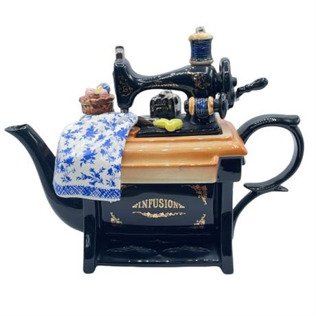 Cardew Signed Sewing Machine Teapot