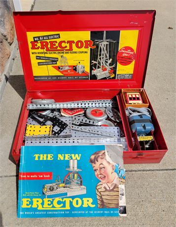 Vintage No. 6 1/2 All Electric Erector Set