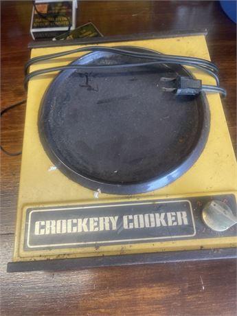 Vintage Sears Crockery Cooker Base