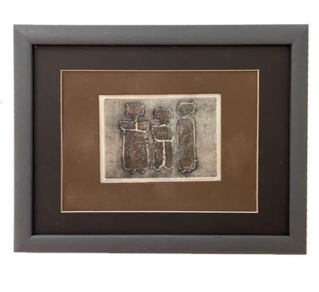 J. Demarais Fecit./ A. Demarais Imp., Original Lithograph, Signed and Numbered