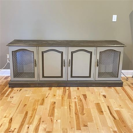 French Provincial Buffet Media Console