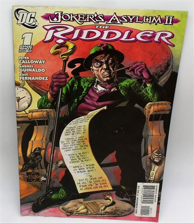 Issue 1 comic book RIDDLER