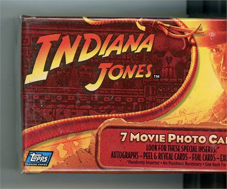 INDIANA JONES AND THE KINGDOM OF THE CRYSTAL SKULL 90 CARD SET TOPPS