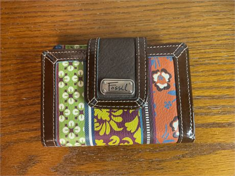 Fossil Decorative Wallet New