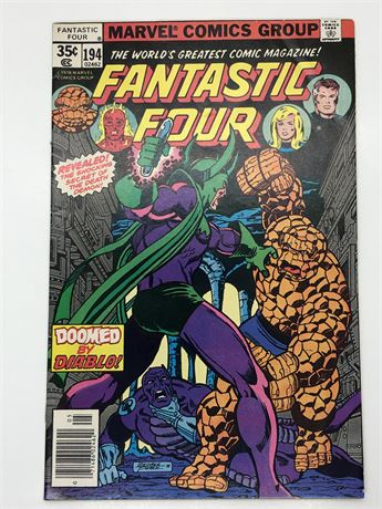 Fantastic Four #194 Comic Book