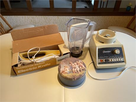 Electric Knife and Blender