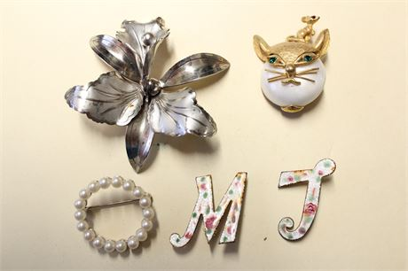 Assorted Pins/Brooches