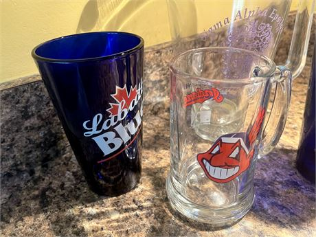 Commemorative Mugs and Pitcher