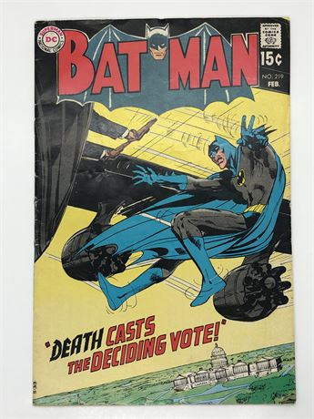 15C Batman #219 Comic Book