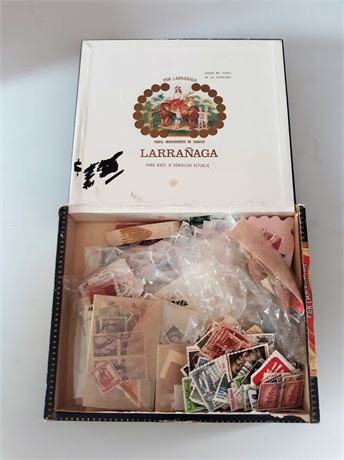 Box of Assorted Stamps