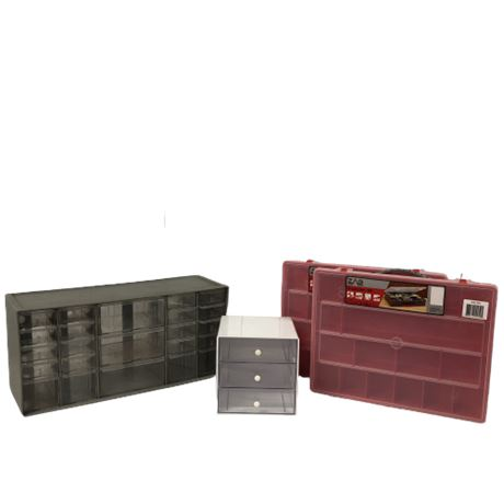 Hardware Storage Drawer Containers