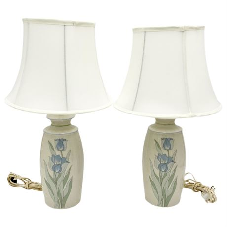 Pair of Signed Table Lamps