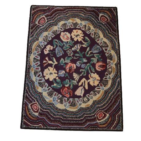 LL Bean Wool Cotton Accent Rug