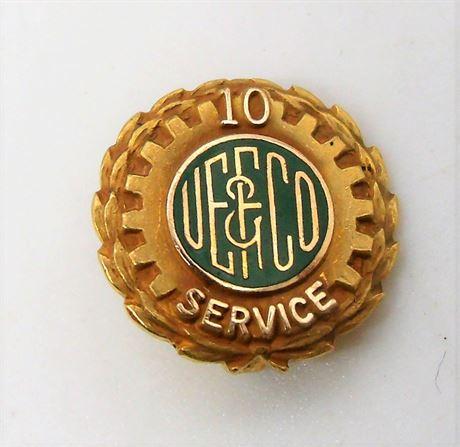 14K Gold employee pin