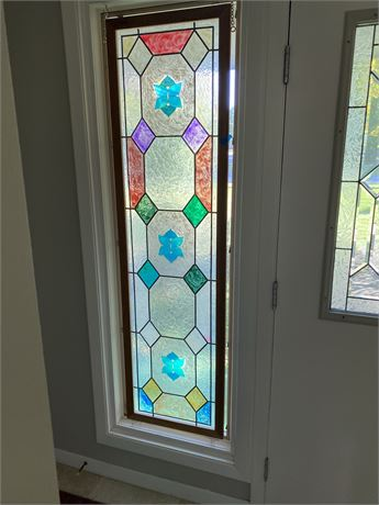 Handcrafted Glass Panel