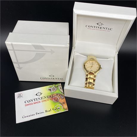 Continental 18K Gold 3M electroplated 5175 Men's Watch