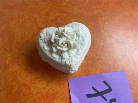 Keep sake heart box