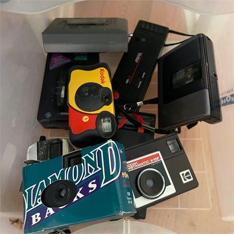 Vintage Camera Mystery Lot