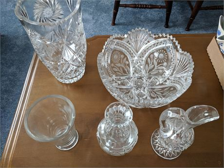 Cut Glass and Miscellaneous