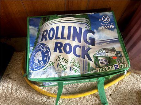 Rolling Rock Rocks 2 Go Cooler