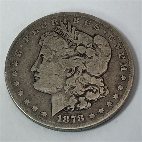 1878-CC Morgan Dollar Coin