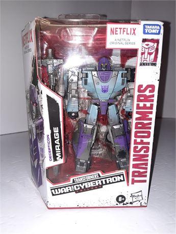 Transformers Mirage Netflix Figure