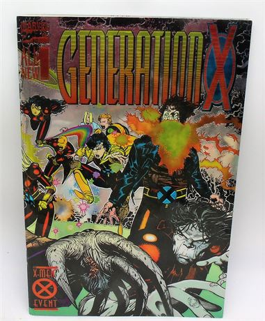 Issue 1 comic book GENERATION X