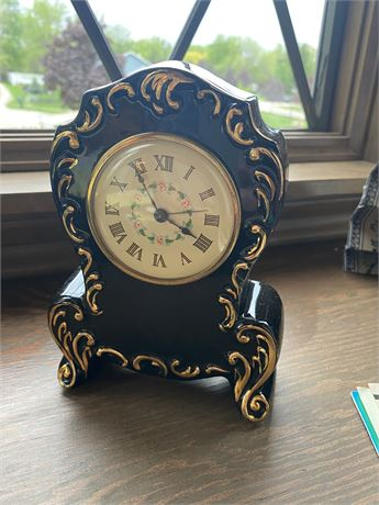 Black Decorative Clock