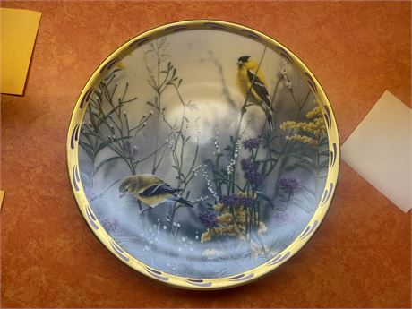 Goldarn Splendor By Catherin McClaye From the Nature's Collage Plate Collection