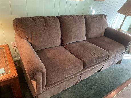 Broyhill three person traditional couch