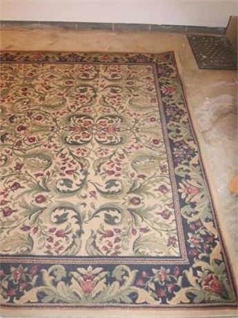 11' x 6.5' Floral, Grand Legacy, area rug