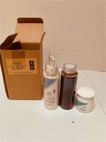Wei East Cleanser Toner &Cream -New in box