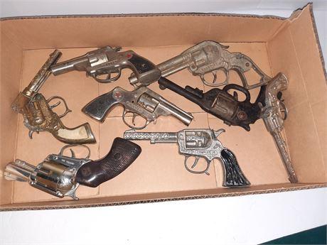 Vintage Cap Gun Toy Gun Lot