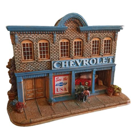 Lilliput Lane Landmarks - See the USA in your Chevrolet #0436