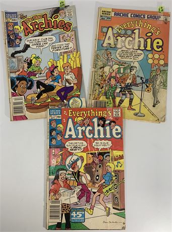 Assorted Archie Comic Books