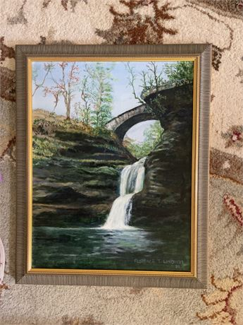 Linhiem's 1982 Waterfall Under the Bridge
