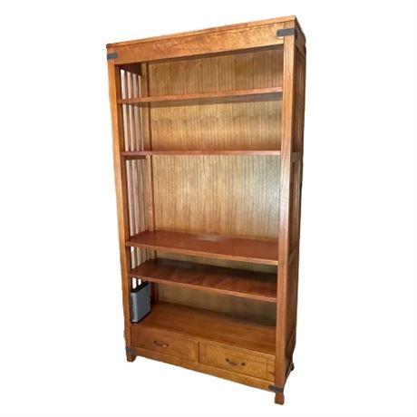 Arhaus Wide Bookcase