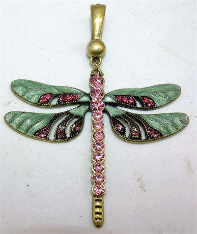Dragonfly Pendant signed