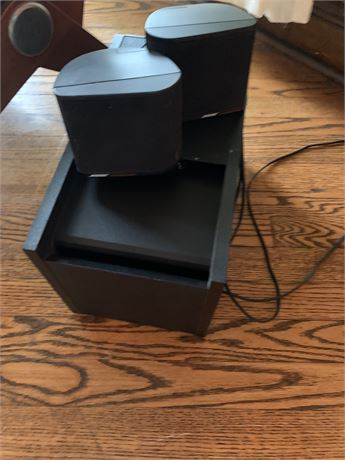 Bose Speakers and Control Unit