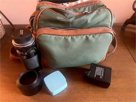 Tamaon Lens, Camera case and extras