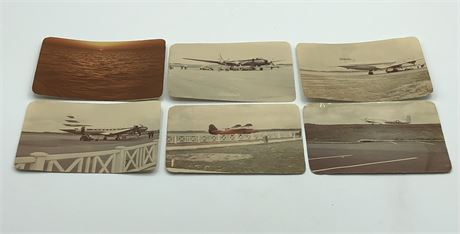 1940's-1950's US Airplanes in Flight Photo Lot