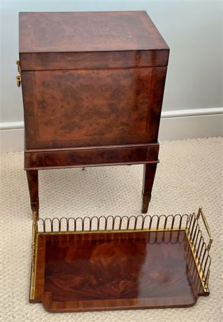 Maitland Smith Box on Stand and Tray
