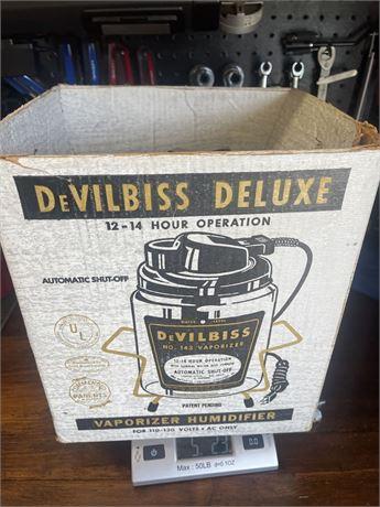 Vintage DeVilbiss Deluxe Vaporizer No. 143