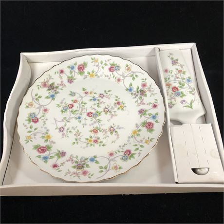 New Cake Plate and Server