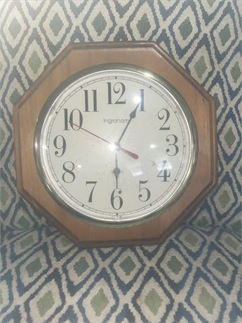 Ingraham Wall Clock