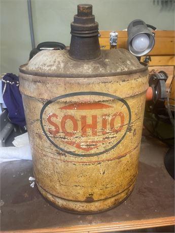 Sohio Gas Can
